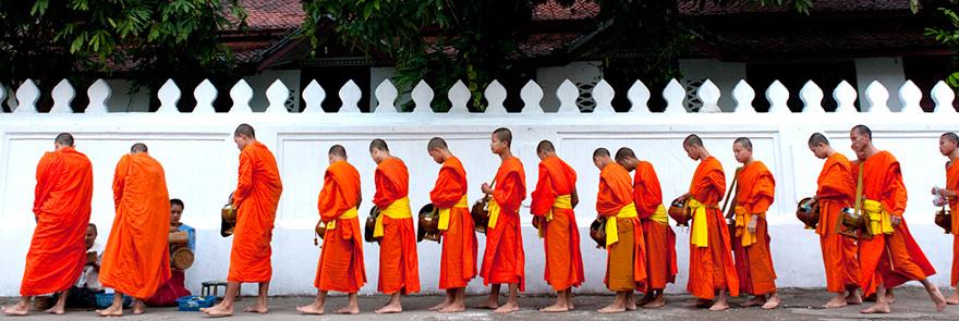 Monks Luang Prabang
